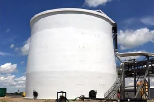 Process containment tank