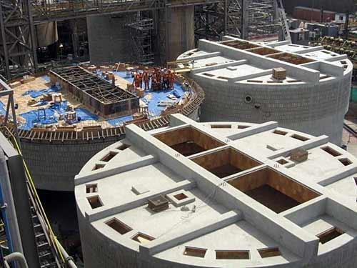 Reinforced concrete tank